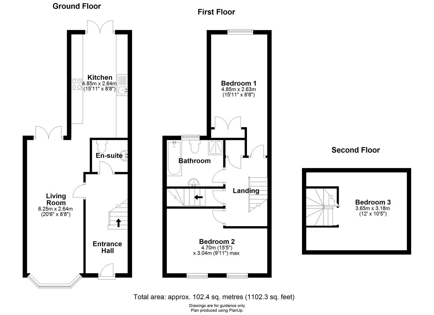 Floor plan Paddock Street, Soham, Ely